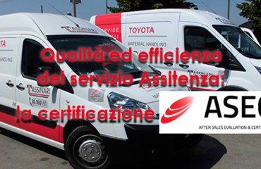 Qualità ed efficienza del servizio Assistenza: la certificazione ASEC