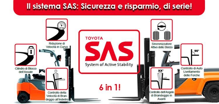 Il sistema SAS: Sicurezza e risparmio, di serie!