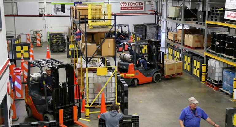Corso di formazione per conduttori di carrelli elevatori