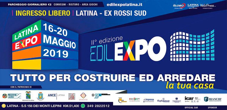 Il Gruppo Tassinari presente alla fiera Edil Expo di Latina